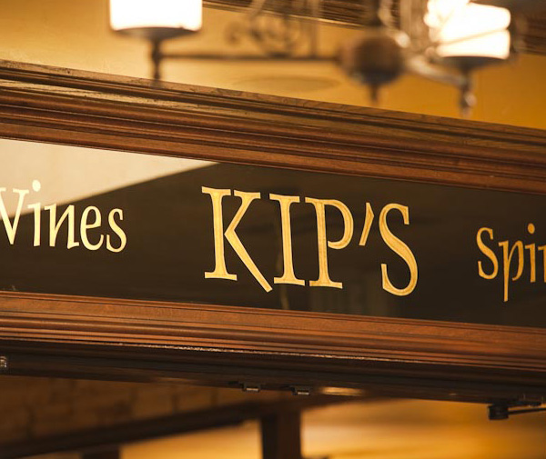 Kip's Entrance Sign