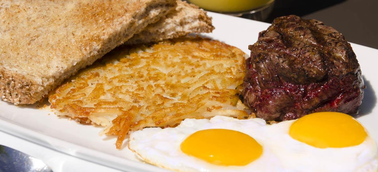Beef Tenderloin & Eggs